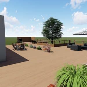 Bureau études dessinateur paysagiste jardin Fouesnant