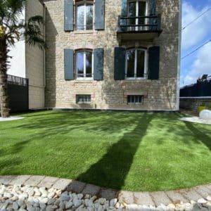 jardin ville gazon synthetique quimper capp paysages - Paysages
